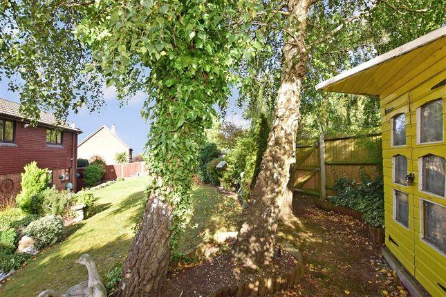 Rear Garden of Ryegrass Close, Walderslade, Chatham, Kent ME5