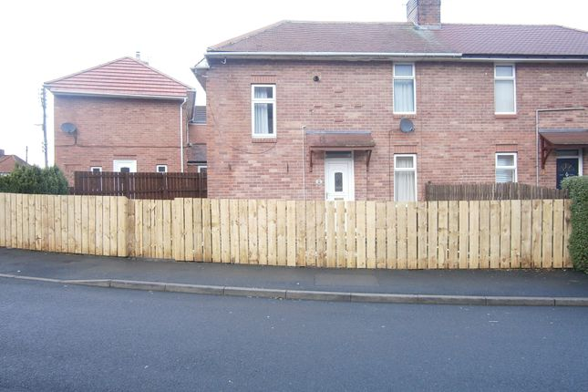 Thumbnail Semi-detached house to rent in Chirdon Crescent, Hexham