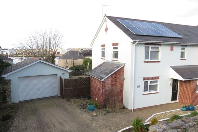 Thumbnail Semi-detached house for sale in Baylys Road, Plymstock, Plymouth