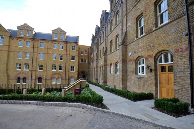 Thumbnail Flat to rent in Cambridge Court, St. Josephs Gate, Lawrence Street, Mill Hill