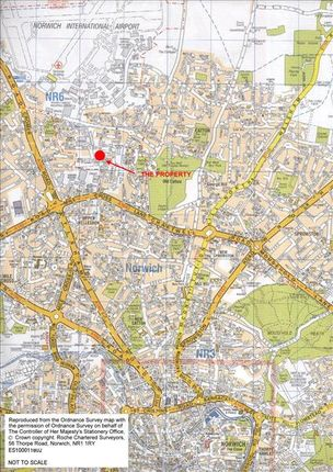 Location Plan of 40-42 Vulcan Road North, Norwich, Norfolk NR6