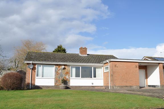 Thumbnail Detached bungalow for sale in Elmside, Willand, Cullompton