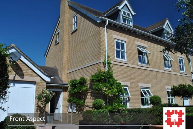 Thumbnail End terrace house for sale in The Granary, Arlesey, Beds