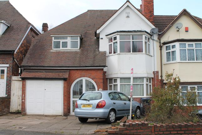Thumbnail Semi-detached house for sale in Sandwell Road, Handsworth, Birmingham