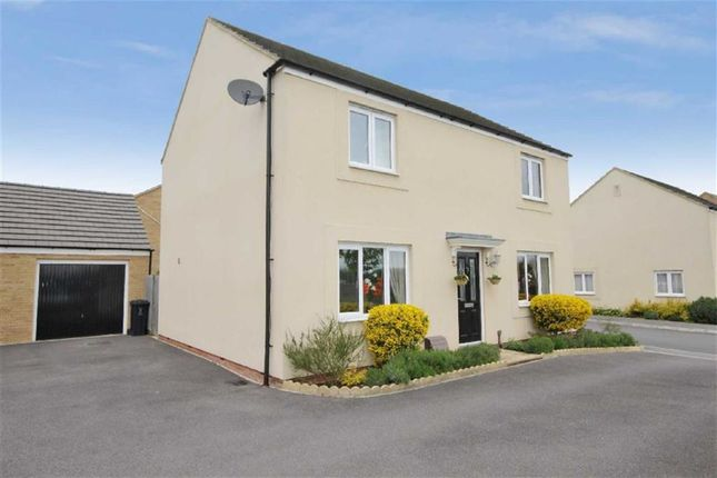 Thumbnail Detached house to rent in Sanders Close, Stratton, Swindon
