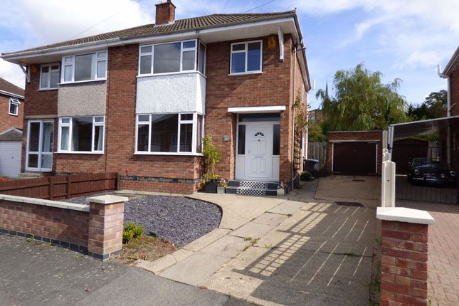 Thumbnail Semi-detached house to rent in Hibbert Close, Rugby