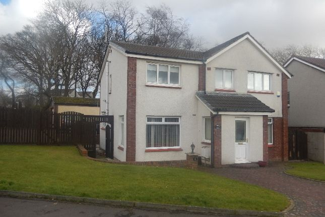 Thumbnail Detached house to rent in Cromarty Road, Airdrie, North Lanarkshire