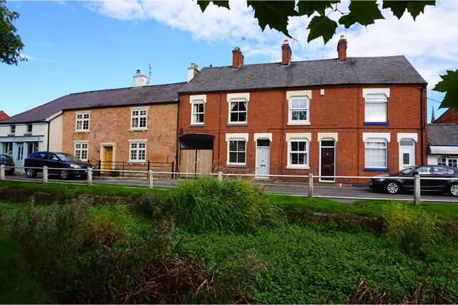 Thumbnail Terraced house for sale in The Nook, Cosby, Leicester