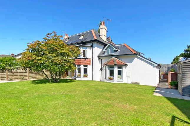 Thumbnail Semi-detached house for sale in Orchard Close, Woodbury, Exeter