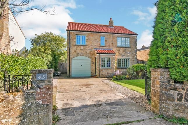 Thumbnail Detached house for sale in Moor Road, Melsonby, Richmond, North Yorkshire