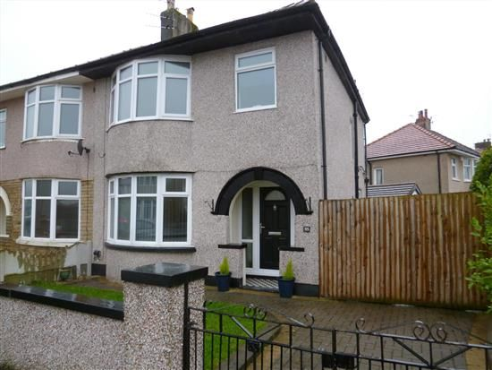 Thumbnail Property to rent in Windsor Grove, Morecambe, Lancs