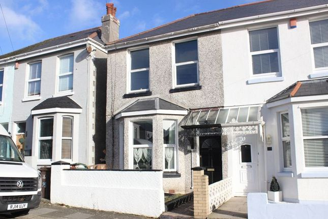 Thumbnail Semi-detached house for sale in Cedarcroft Road, Beacon Park, Plymouth
