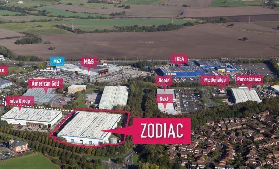 Thumbnail Light industrial to let in Zodiac, 1060 Europa Boulevard, Westbrook, Warrington, Cheshire