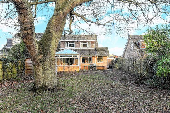 Thumbnail Detached house for sale in Longbridge Road, Bramley, Tadley
