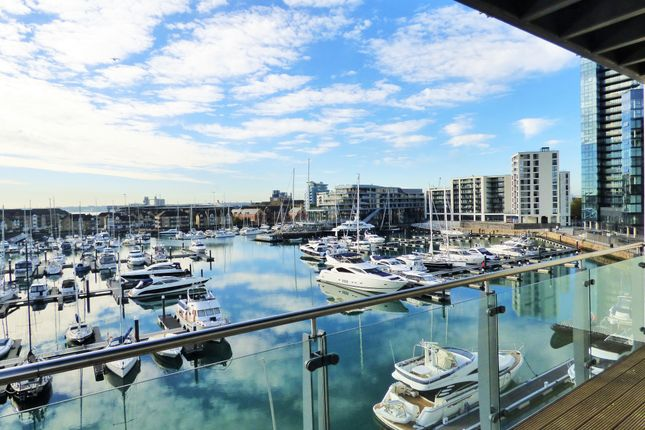 Thumbnail Flat to rent in Channel Way, Southampton