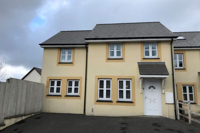 Thumbnail Semi-detached house for sale in Llys Y Dderwen, New Quay