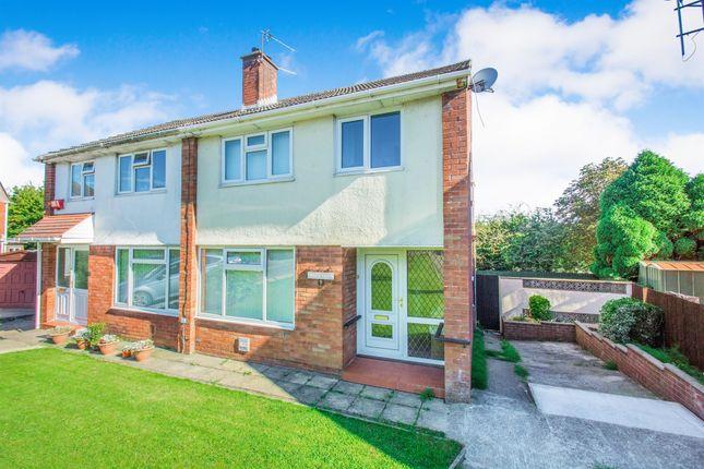 Thumbnail Semi-detached house for sale in Elderwood Close, Penylan, Cardiff
