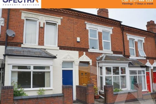 Thumbnail Terraced house to rent in Hobson Road, Selly Park, Birmingham