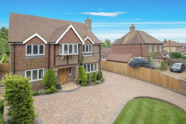 Thumbnail Detached house for sale in Moorstock Lane, Sellindge, Ashford