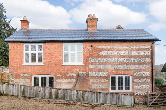 Thumbnail End terrace house to rent in Hurstbourne Priors, Whitchurch