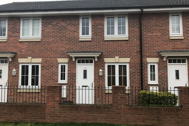 Thumbnail Town house to rent in Sanderling Way, Forest Town, Mansfield