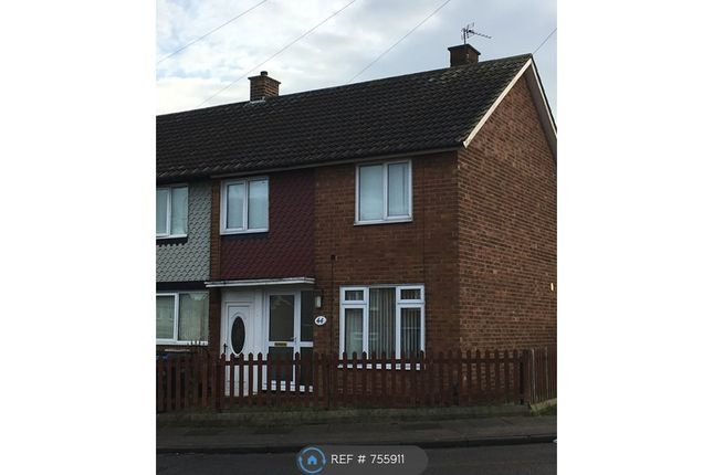 Thumbnail End terrace house to rent in Bollington Road, Middlesbrough