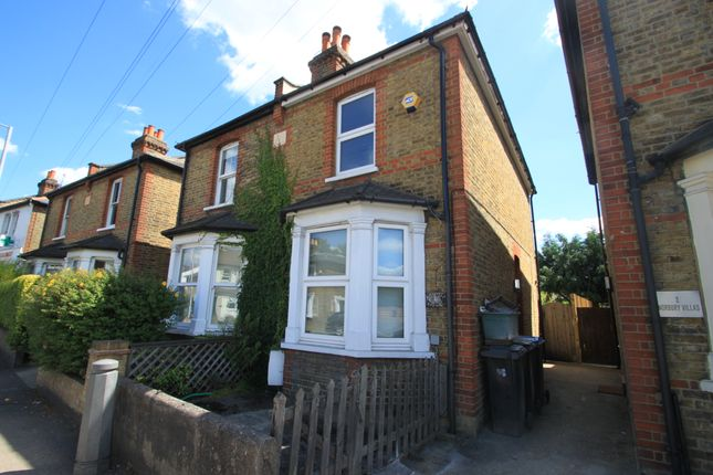 Thumbnail Semi-detached house to rent in Hawks Road, Kingston Upon Thames, Surrey