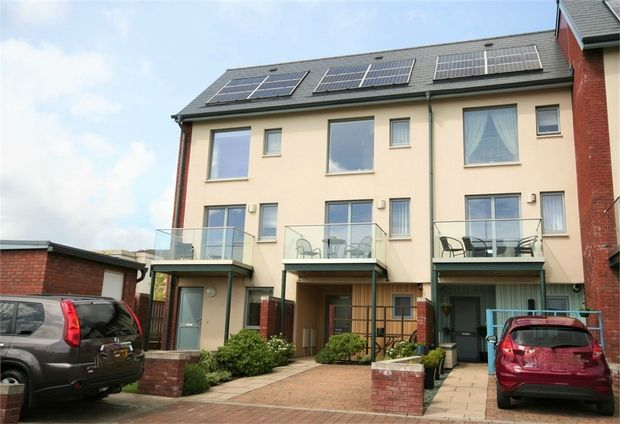 Thumbnail End terrace house to rent in Langdon Road, St. Thomas, Swansea