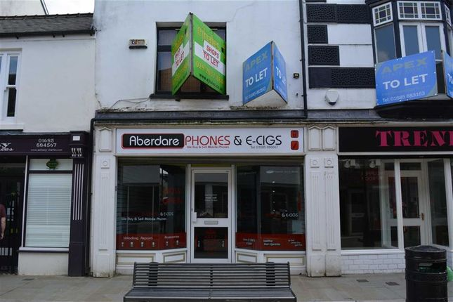 Thumbnail Property to rent in Commercial Street, Aberdare, Rhondda Cynon Taff