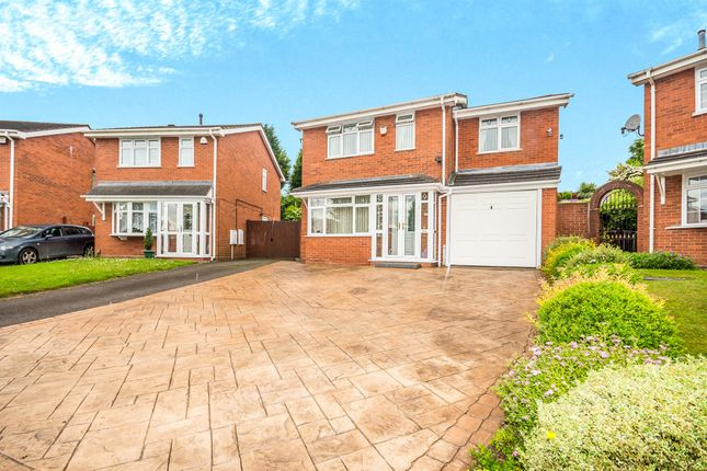Thumbnail Detached house for sale in Fawley Close, Willenhall