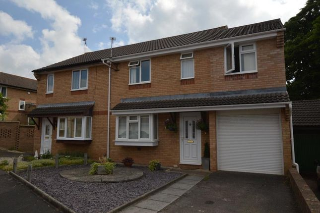 Thumbnail Semi-detached house for sale in Medway Close, Taunton, Somerset