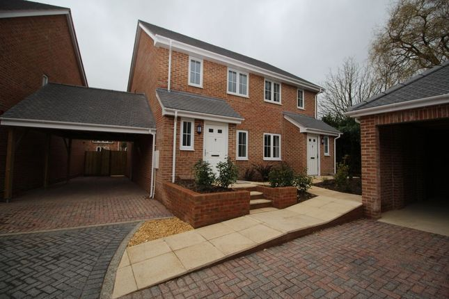 Thumbnail Terraced house to rent in Wildwood Close, Titchfield Common