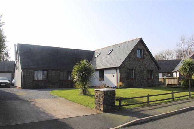 5 bed detached bungalow for sale in Cleddau Close, Llangwm, Haverfordwest SA62