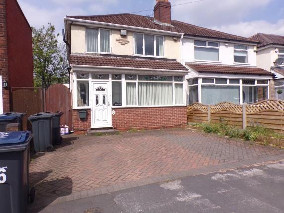 Thumbnail Semi-detached house for sale in Powick Road, Erdington, Birmingham, West Midlands