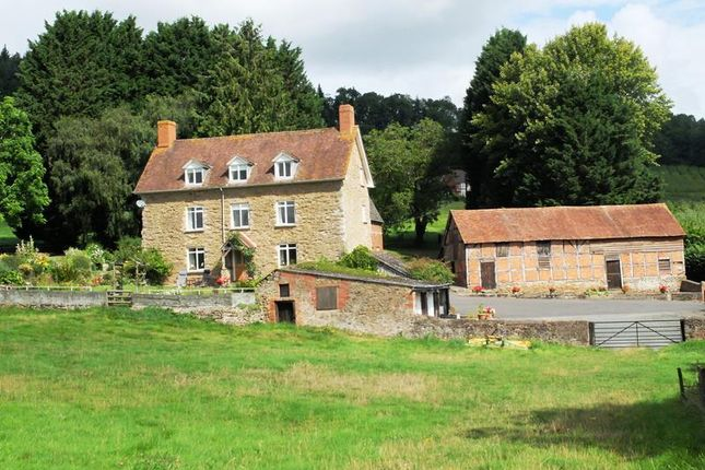 Thumbnail Detached house for sale in Putley, Near Ledbury, Herefordshire