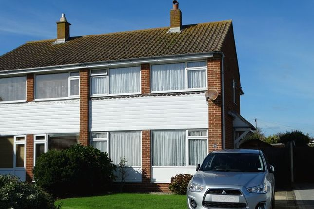 Thumbnail Semi-detached house for sale in Marine Drive, Selsey, Chichester