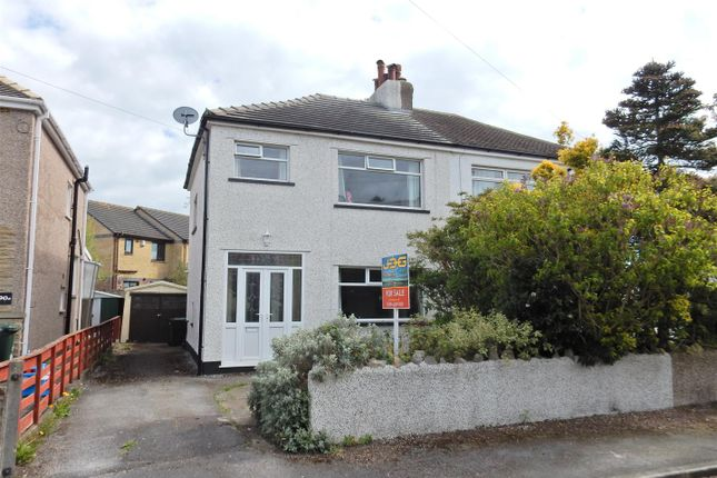 Thumbnail Semi-detached house for sale in Buckingham Road, Morecambe