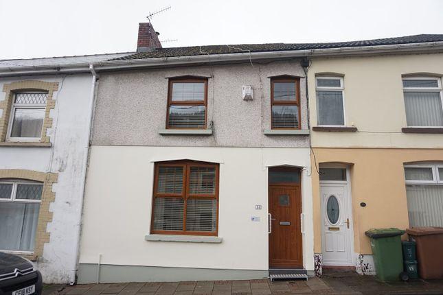 Thumbnail Terraced house for sale in Bailey Street, Deri, Bargoed