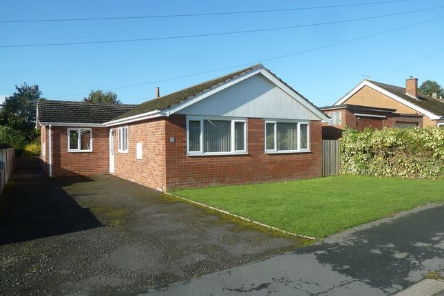 Thumbnail Detached bungalow to rent in 4 Wellgate, Wem, Shropshire
