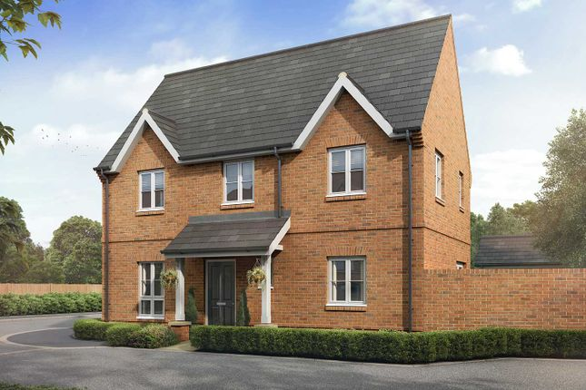 """Thumbnail Semi-detached house for sale in """"The Langham"""" at Boorley Green, Winchester Road, Botley, Southampton, Botley"""