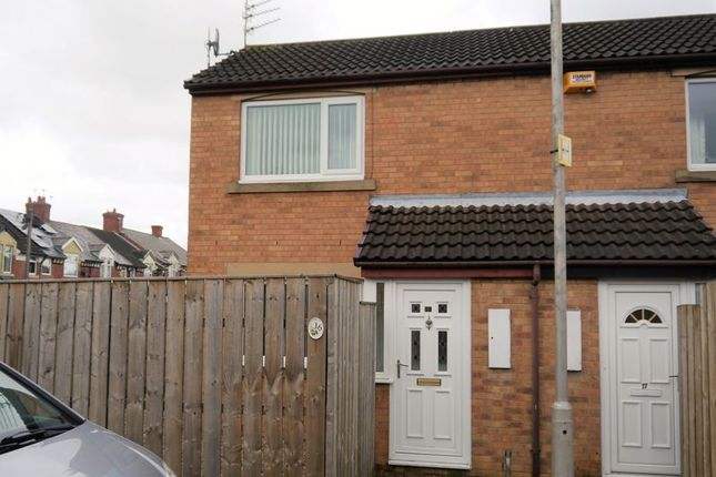 Thumbnail Semi-detached house for sale in Brook Court, Bedlington