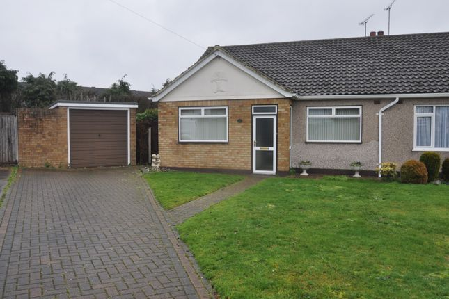 Thumbnail Semi-detached bungalow for sale in Farm Way, Benfleet