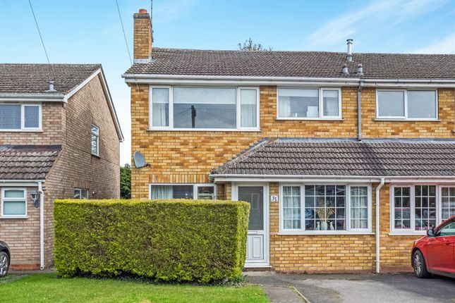 Thumbnail Semi-detached house for sale in Ettington Close, Wellesbourne, Warwick