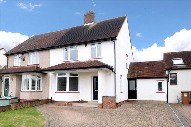 Thumbnail Semi-detached house for sale in Trowley Rise, Abbots Langley