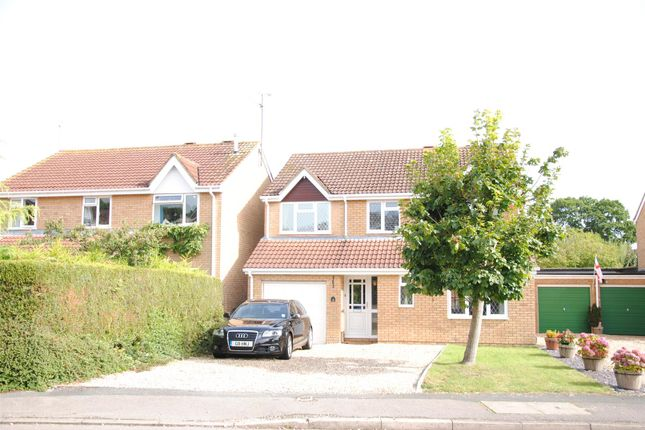 Thumbnail Detached house for sale in 16 King Henry Drive, Grange Park, Swindon