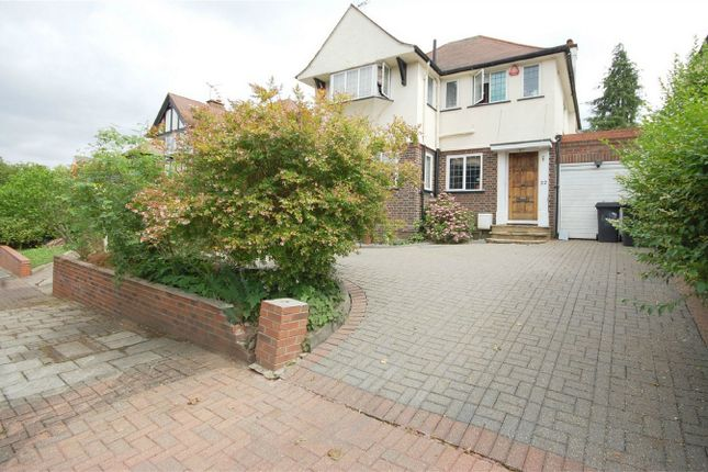 Thumbnail Detached house for sale in The Crossways, Wembley