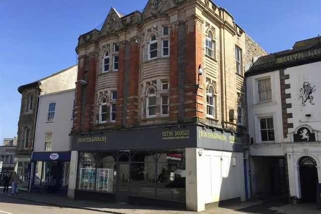 Thumbnail Retail premises to let in 27, Market Place, Penzance