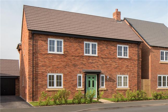 "Thumbnail Detached house for sale in ""Cropthorne"" at Burton Road, Streethay, Lichfield"