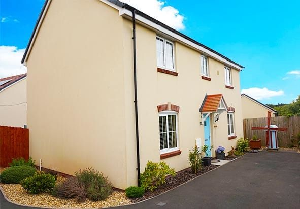 Thumbnail Detached house for sale in Sunningdale Drive, Milford Haven
