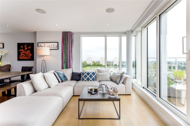 Thumbnail Flat for sale in Riverside Apartments, Goodchild Road, London